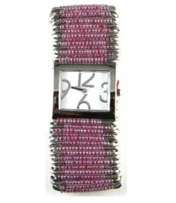 Safety Pin Watch Lavender -...