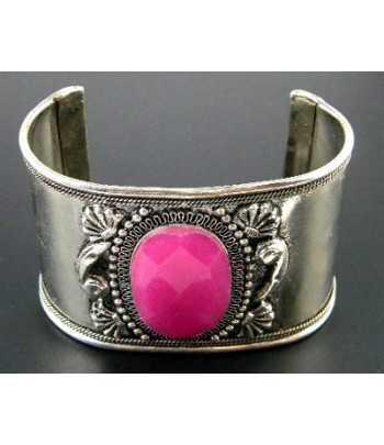 Hot Pink Metal Cuff...