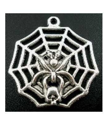 2014 Year Pewter Charm 15x9mm