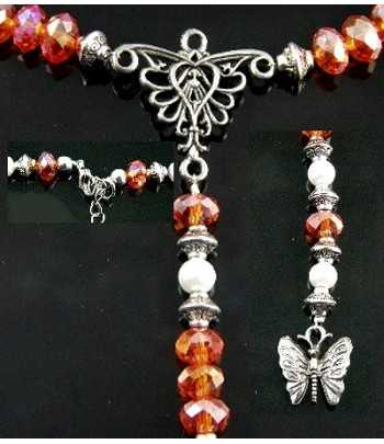 Rosary Inspired Orange...