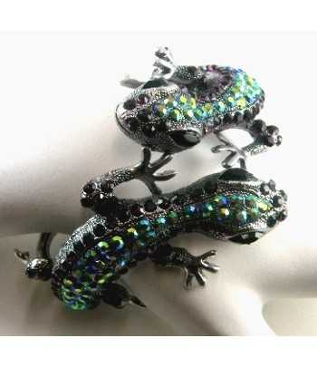 Rhinestone Lizard Bangle...