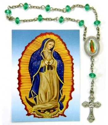 Rosary Bracelet Green...