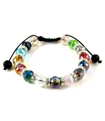 Multi Colored Shamballa...