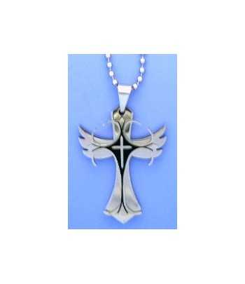 Stainless Steel Wing Cross...