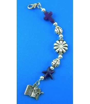 Bouquet of Flowers Charm 19x14mm