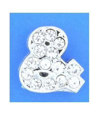 1780 13x10mm Love Pewter Charm