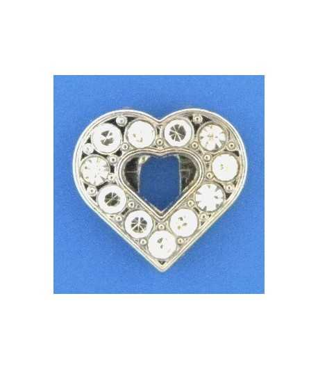 1781 11x10mm Joy Pewter Charm