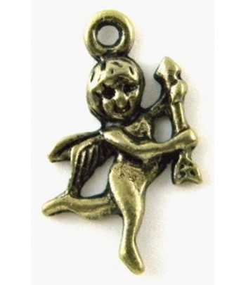Antq Gold Metal Cupid Charm...