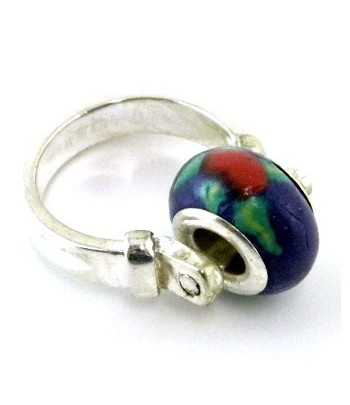 Christmas Bells Enameled Charm 18x17mm