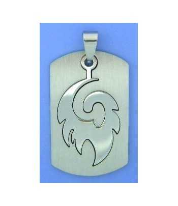 Cancer Survivor (2 sided) Ribbon Sterling Silver Charm 15x10mm