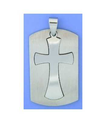 Lt Blue Awareness Ribbon Sterling Silver Charm