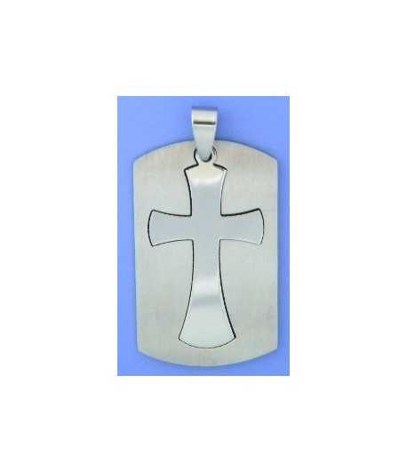 Lt Blue Awareness Ribbon Sterling Silver Charm
