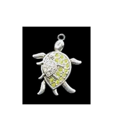 Small Mother and Child Sterling Silver Charm 20x12mm