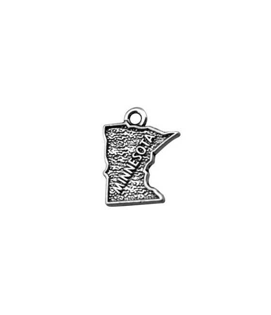 Mother and Child Sterling Silver Charm 20x15mm