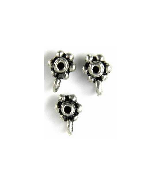 Small Chief Sterling Charm 18x12mm