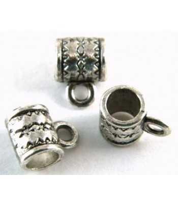 Tomahawk Sterling Silver Charm 25x10mm
