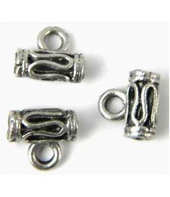 Dancers Sterling Charm 15x10mm