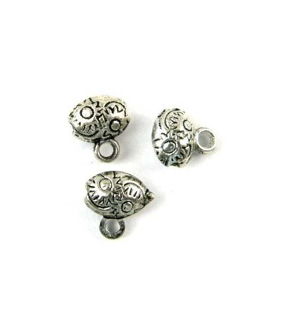 I Love to Dance Sterling Charm 20x15mm