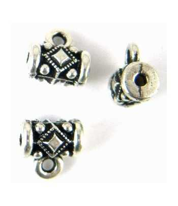 """Best Friends"" Sterling Charm 20x10mm"