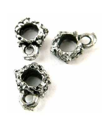 Number 1 Daughter Sterling Charm 15x15mm