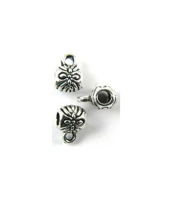 """Number 1 Mom"" Sterling Charm 20x12mm"