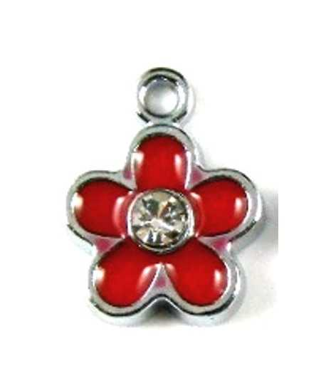 Cross in Heart  Charm 12x12mm