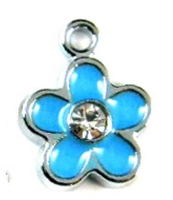 Cross in Heart Charm 15x15mm