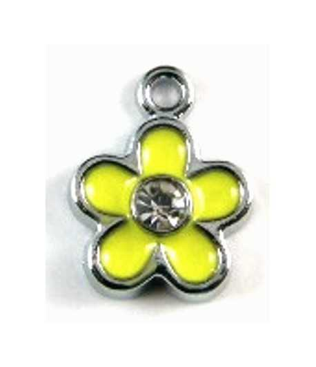 Non Tarnish Forever Elements Cross Charm 14x9mm
