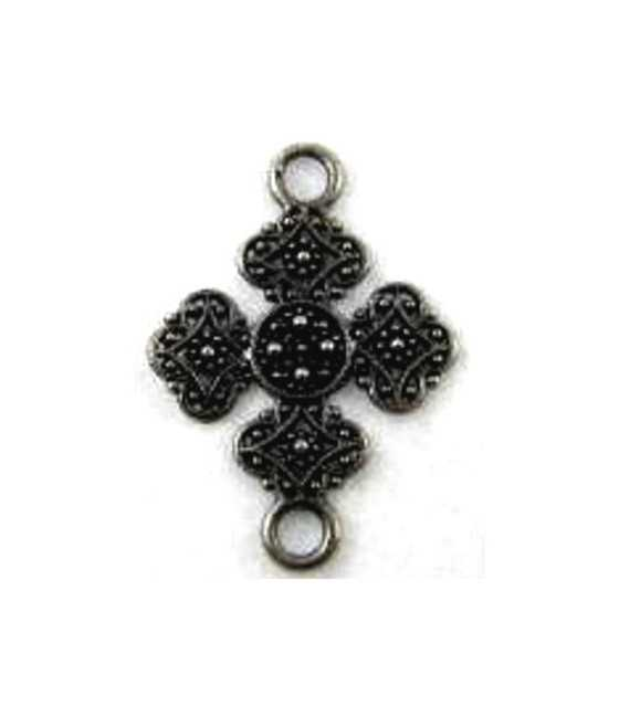 Non Tarnish Forever Elements Cross Charm 23x15mm
