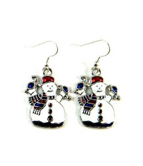 Snowman Earrings - ES3-ER