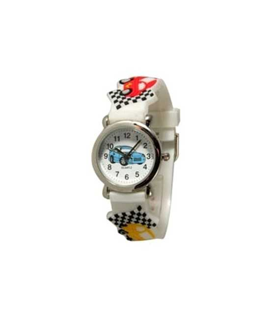 Cross Silicon Strap Watch