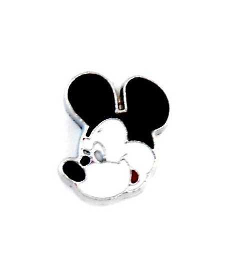 Boy Mouse Face Slide Charm MRN-JY-009 12x10mm