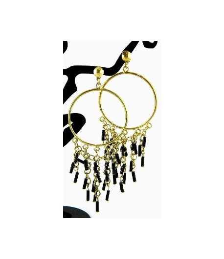 Chandelier on Gold Earrings - DAG-ER7