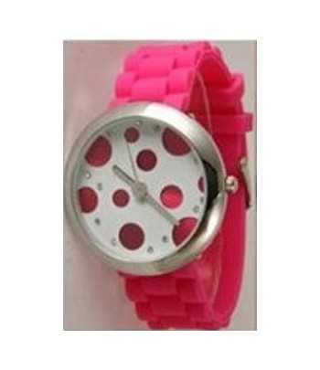 DAG-KD16 18 Inch Kids Acrylic Beaded Necklace w/Pendant & Bracelet Set Pink / Green