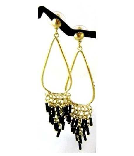Chandelier on Gold Earrings - DAG-ER5