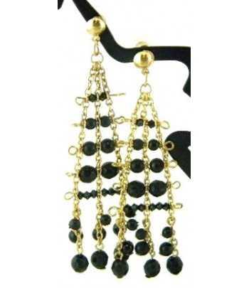 Chandelier on Gold Earrings...