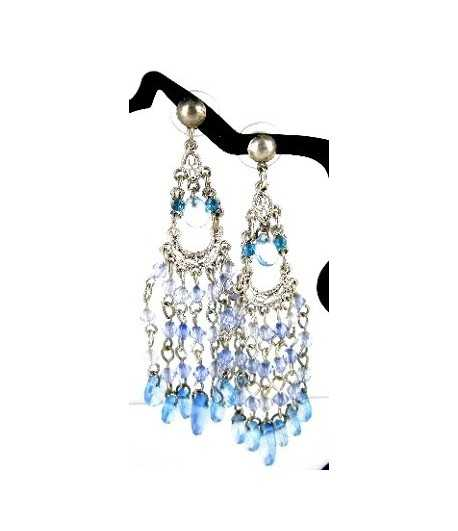 Chandelier on Silver Earrings - DAG-ER2