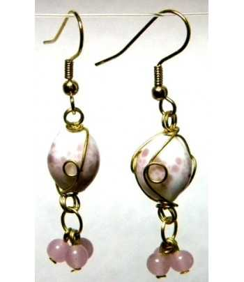 White-Pink Gold Wire...