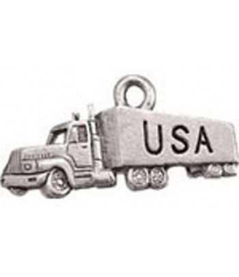 USA Truck Charm 25x13mm