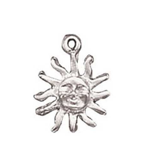 Small Sun Charm 20x16mm