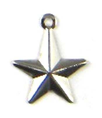 Star Charm 16x13mm