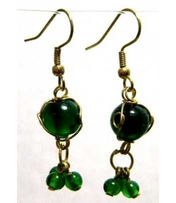 Green Gold Wire Wrapped...