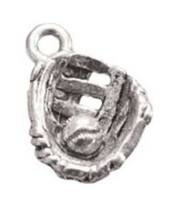 Silver Key Ring with Swival Clasp and Euro Beads - DG-KC17