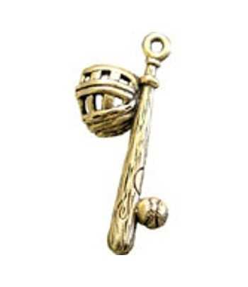 Silver Key Ring with Swival Clasp and Euro Beads - DG-KC14