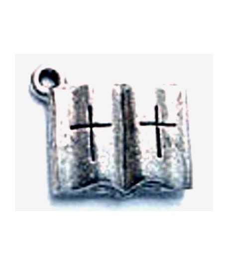 Holy Bible Charm 13x10mm