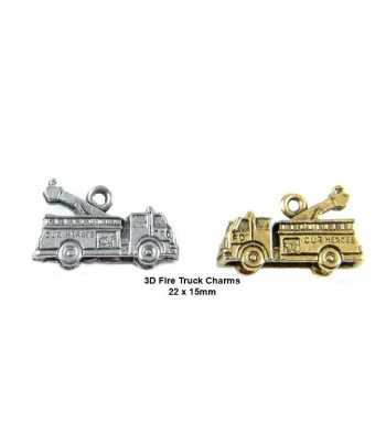 Fire Engine Charm 22x15mm