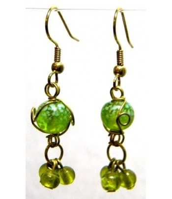 Lime-White Gold Wire...