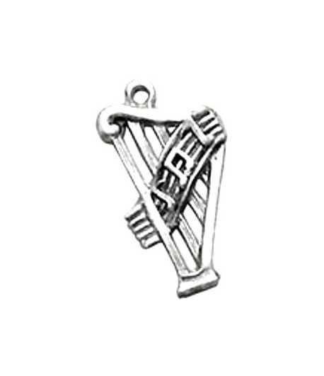 Harp Charm 26x16mm