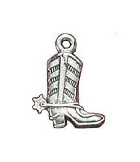 Cowboy Boot Charm 19x15mm
