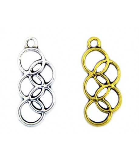 Olympic Rings Charm